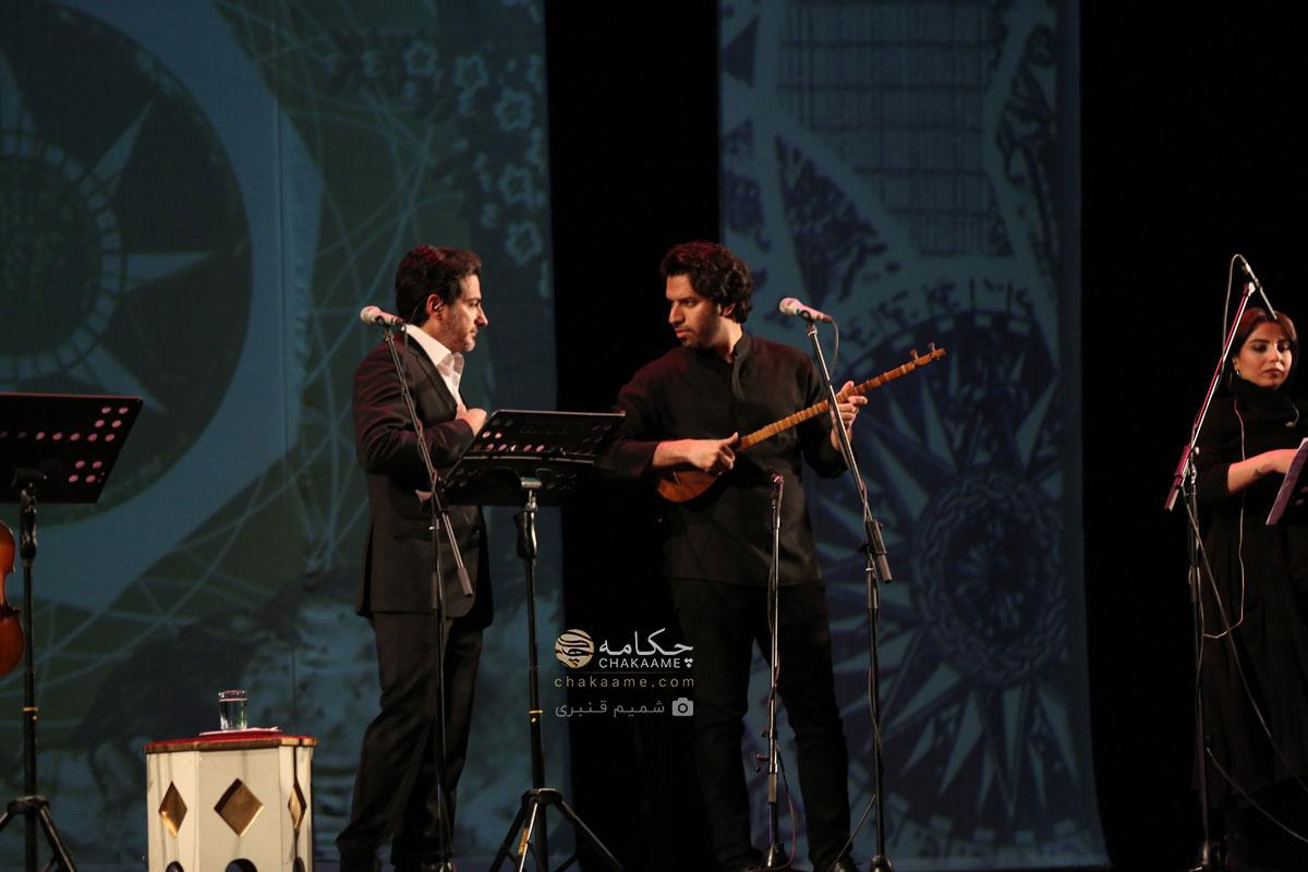 آیین رونمایی آلبوم ایران من - اثر همایون شجریان و سهراب پورناظری