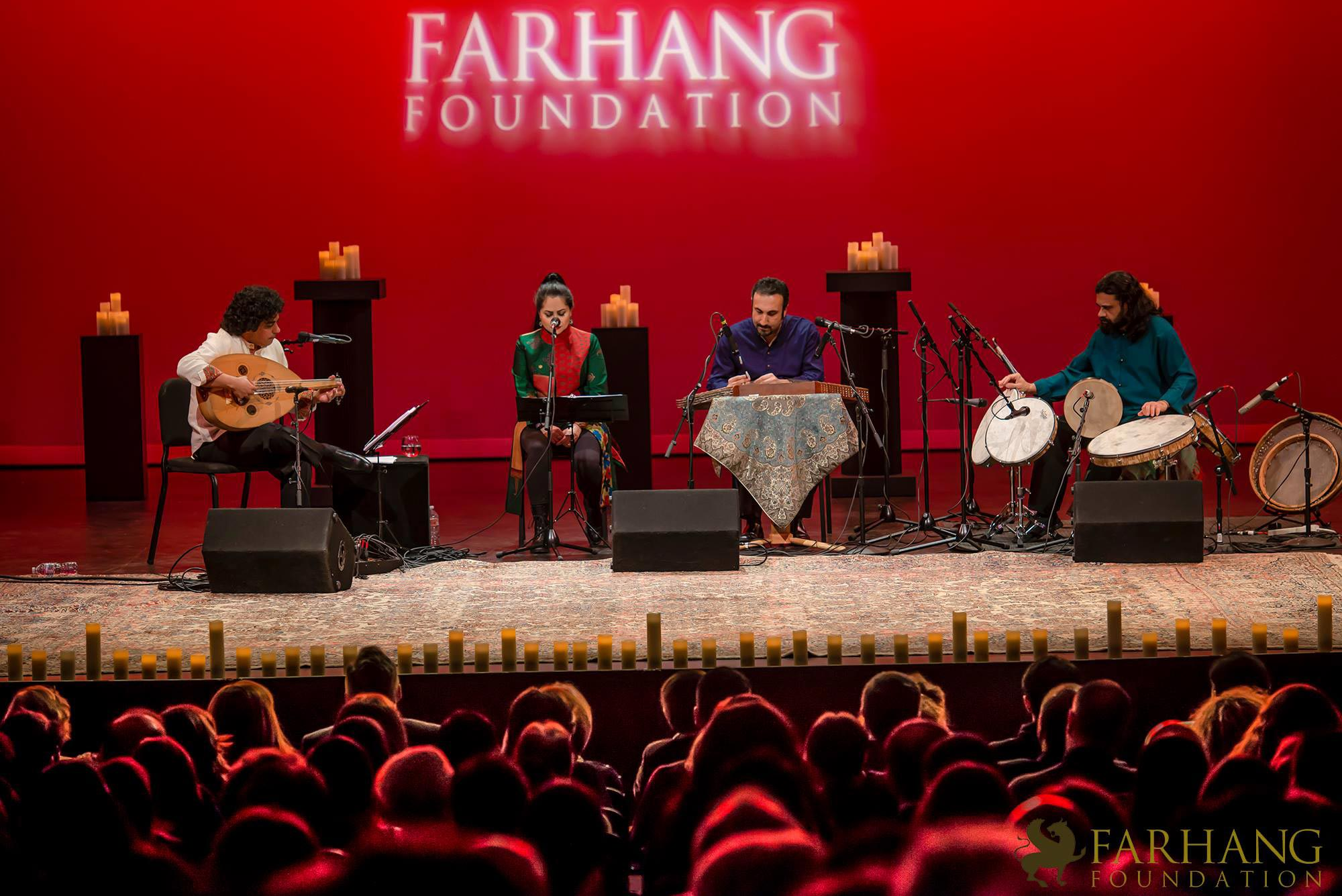 کنسرت مژگان شجریان و گروه نوآیین در لس انجلس
