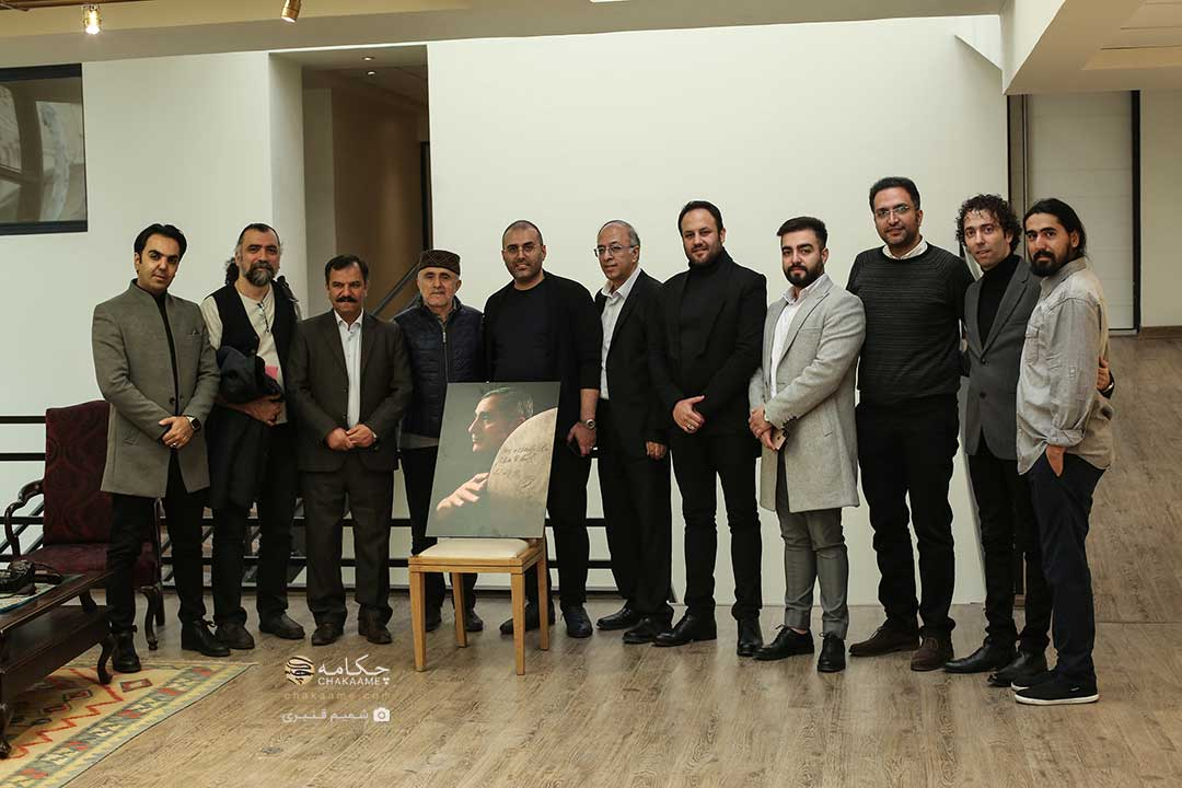 نشست خبری پروژه «هفت پیکر» با حضور عالیم قاسماف