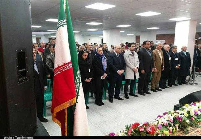 افتتاح باغ هنر بم - فاز اول - با حضور خانواده استاد شجریان