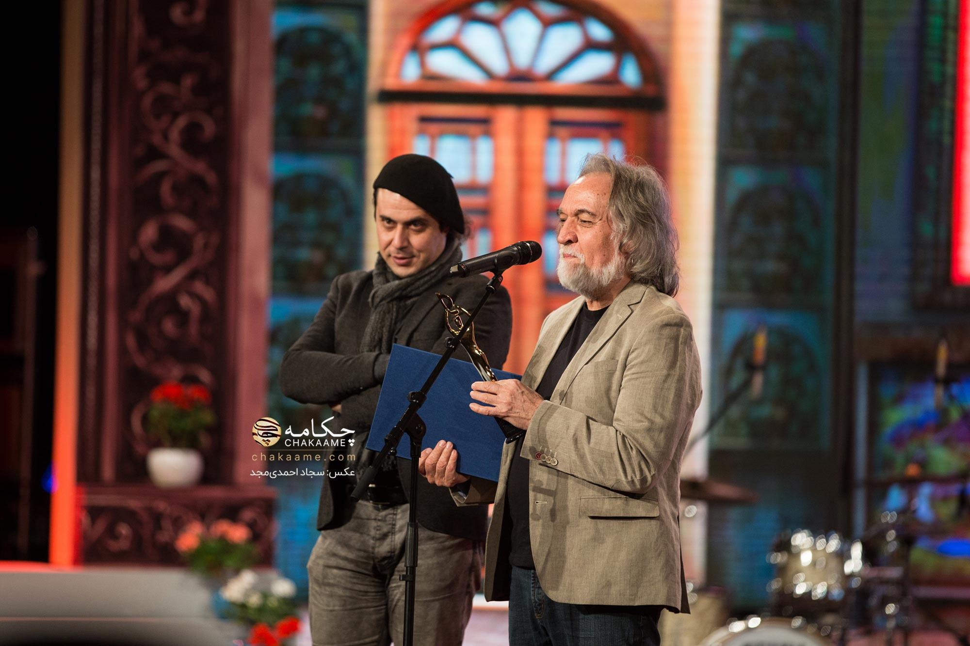 مجید درخشانی در پنجمین جشن سالانه موسیقی ما