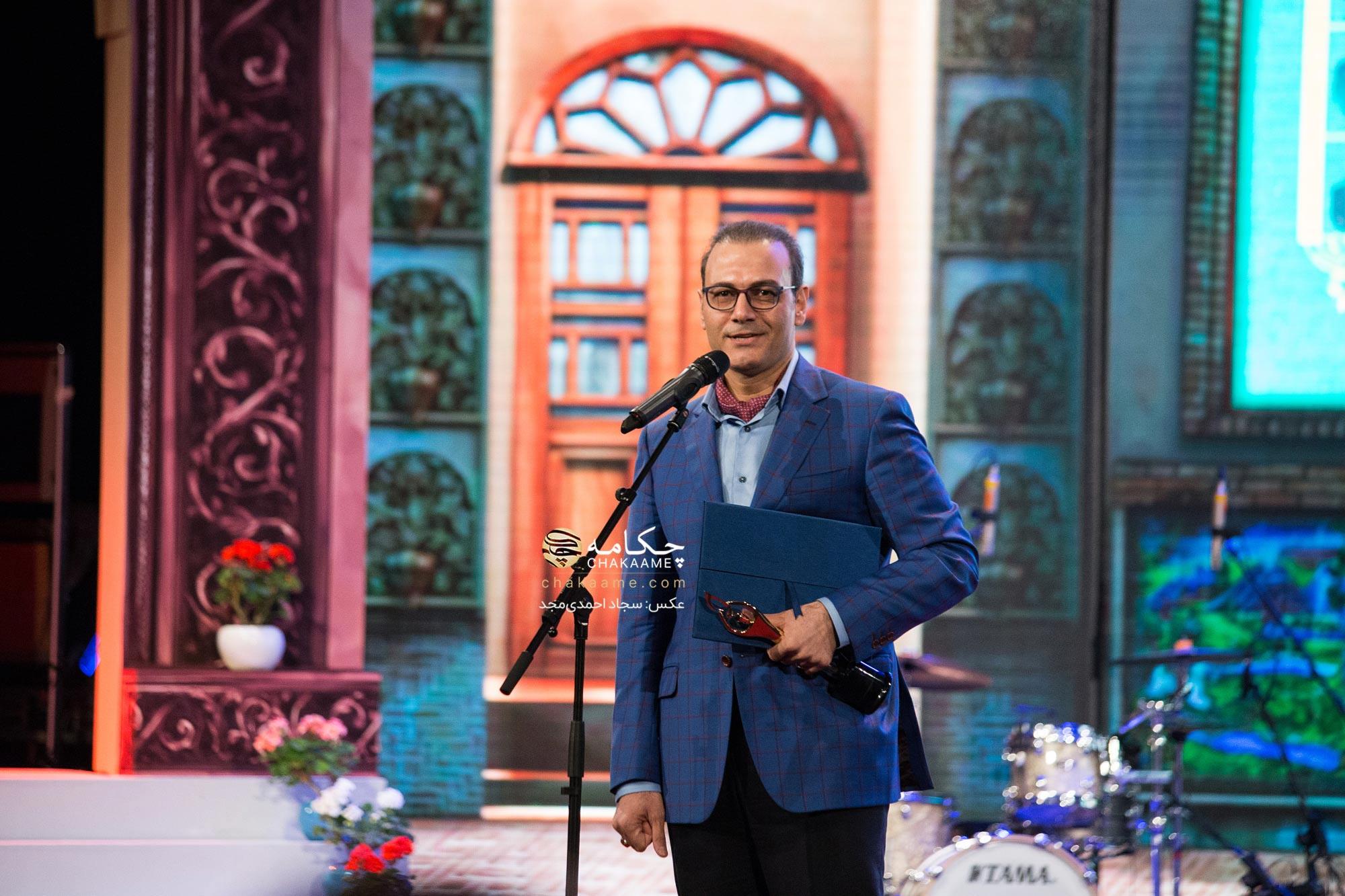 علیرضا قربانی - برگزیده پنجمین جشن سالانه موسیقی ما
