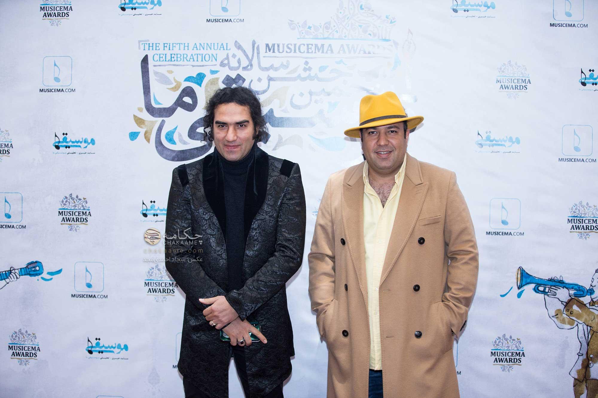 رضا یزدانی - علی اوجی - پنجمین جشن سالانه موسیقی ما