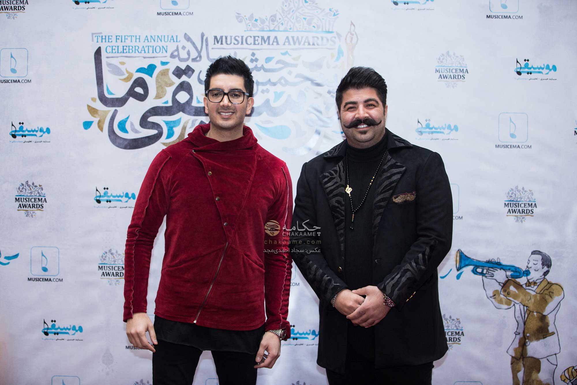 فرزاد فرزین - بهنام بانی - پنجمین جشن سالانه موسیقی ما