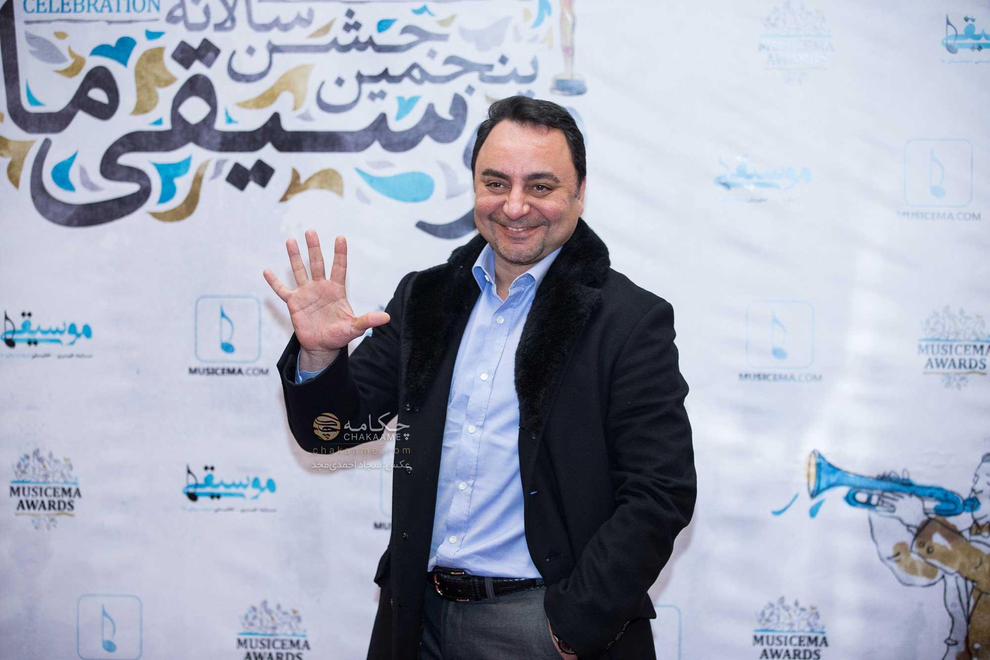 پیام صالحی - پنجمین جشن سالانه موسیقی ما