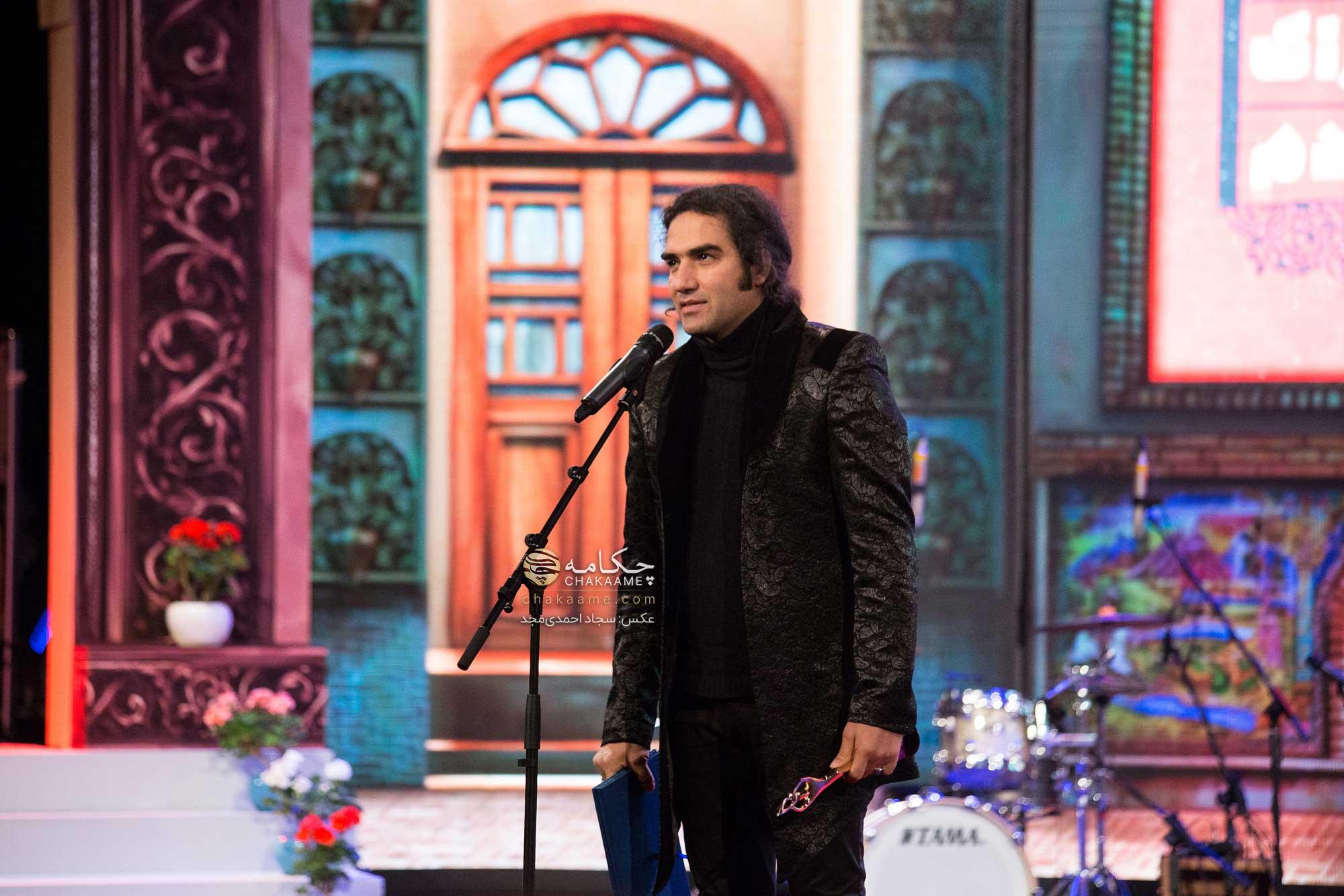 رضا یزدانی در پنجمین جشن سالانه موسیقی ما