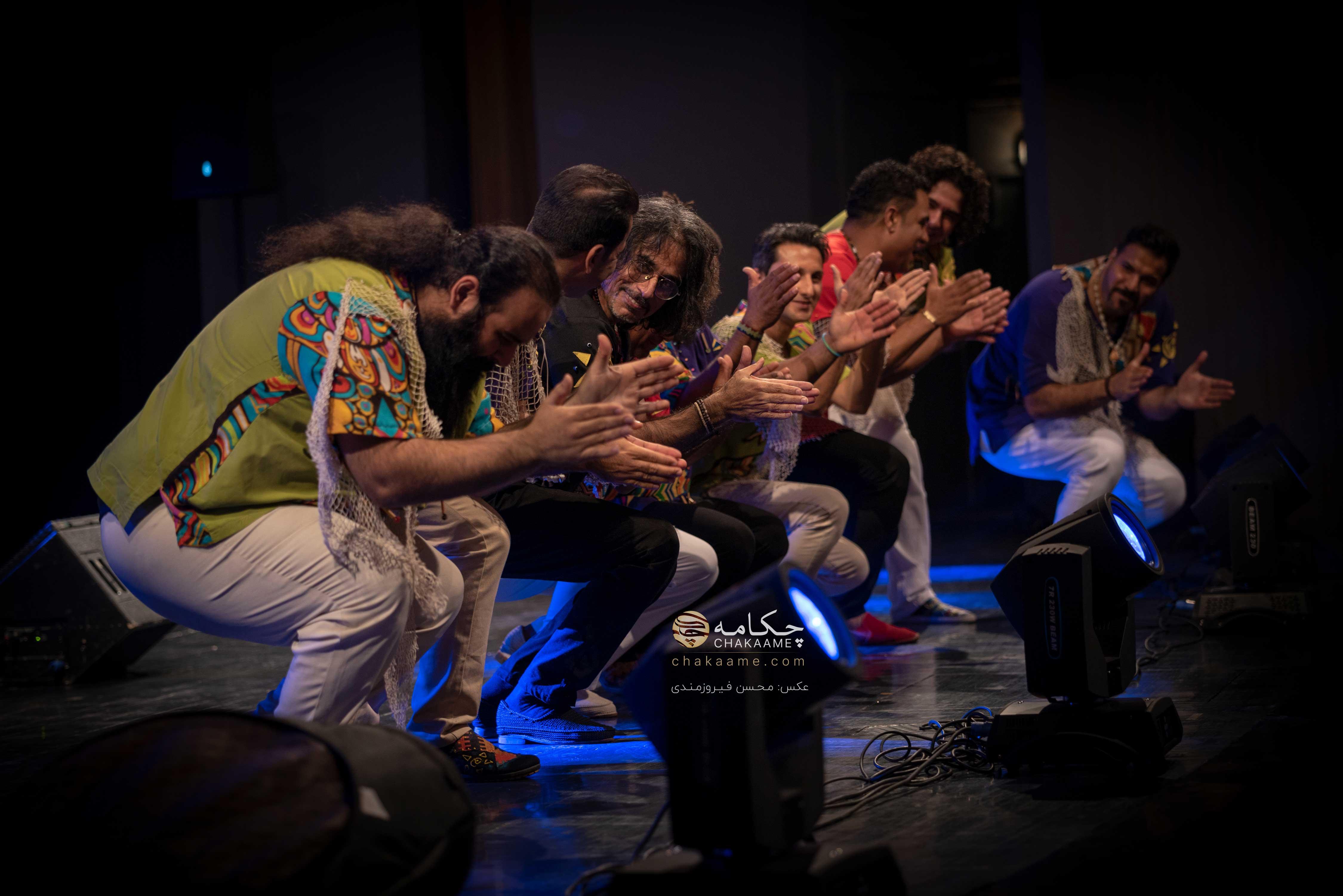 کنسرت گروه لیان به سرپرستی محسن شریفیان