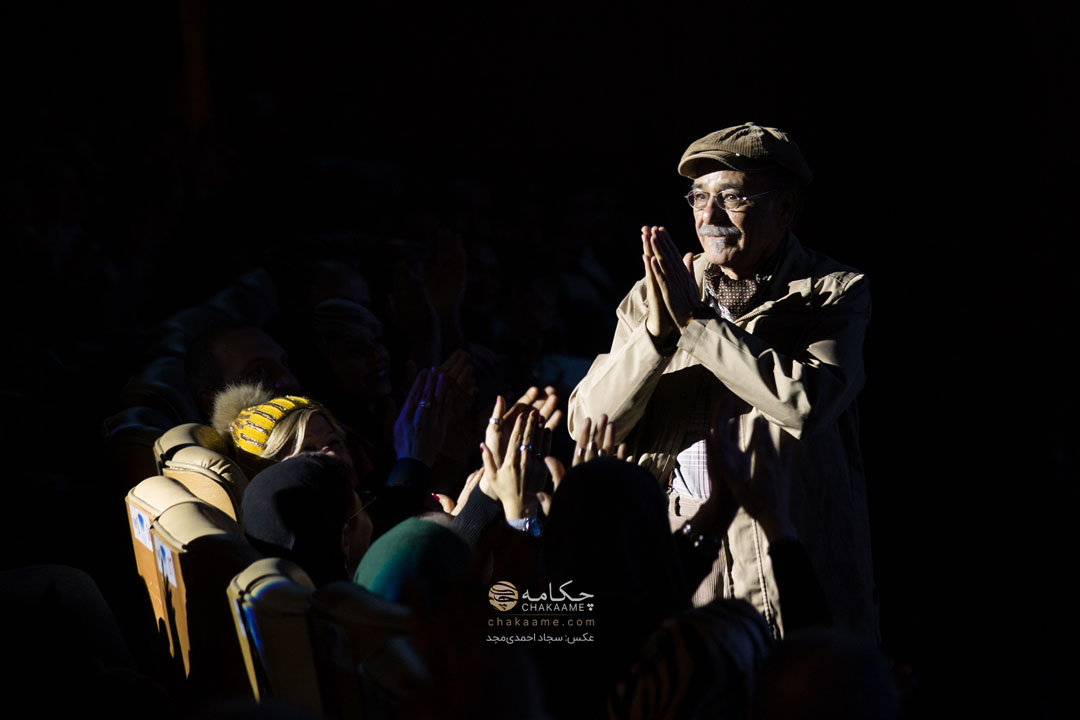رضا بابک در کنسرت علی زند وکیلی